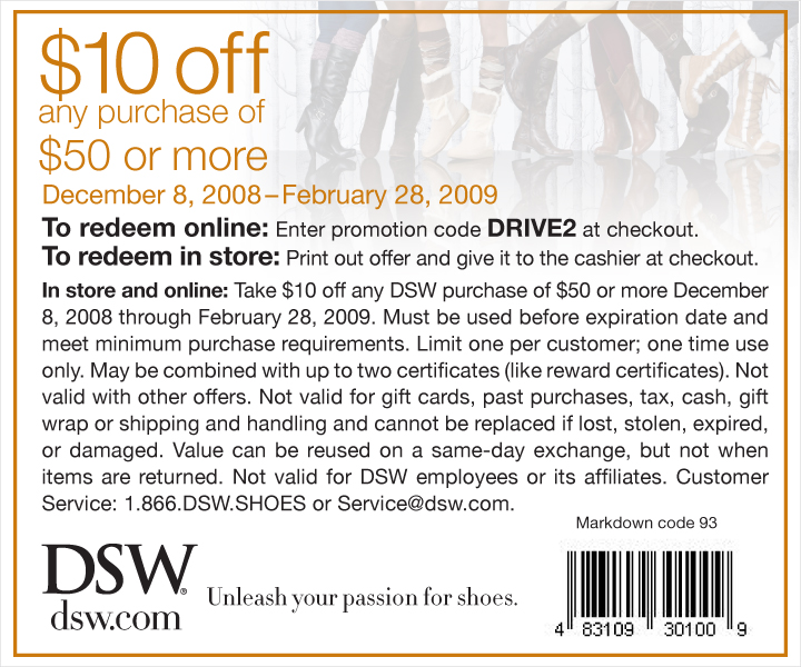 Warehouse Shoe Store Coupons
