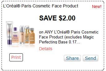 image about Loreal Printable Coupon known as Contemporary Loreal Printable Coupon codes Get Your Printable Discount coupons