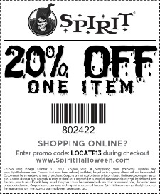 Spirit Halloween Coupons Grab Your Printable Coupons