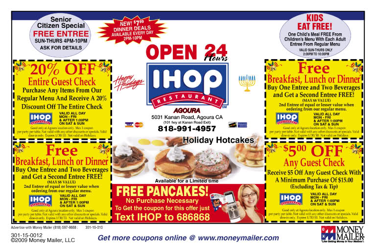 image about Ihop Printable Coupons named Track down IHOP Printable Coupon codes? Get Your Printable Discount codes