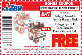 coupons-Special K Protein Shakes 4 Pack Kellogg ' s Special K Dark Chocolate GET 1 Protein Shakes 4 Pack