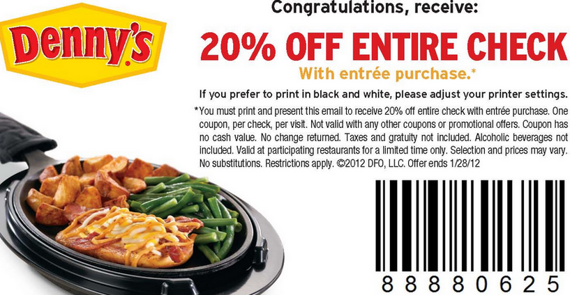 dennys coupon-salads-codes
