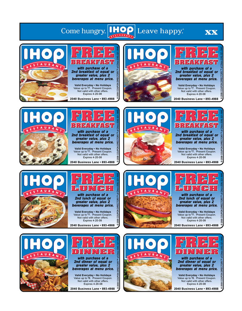 Ihop coupons discounts