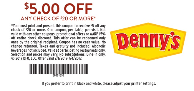 5-off-dennys-internet-coupons