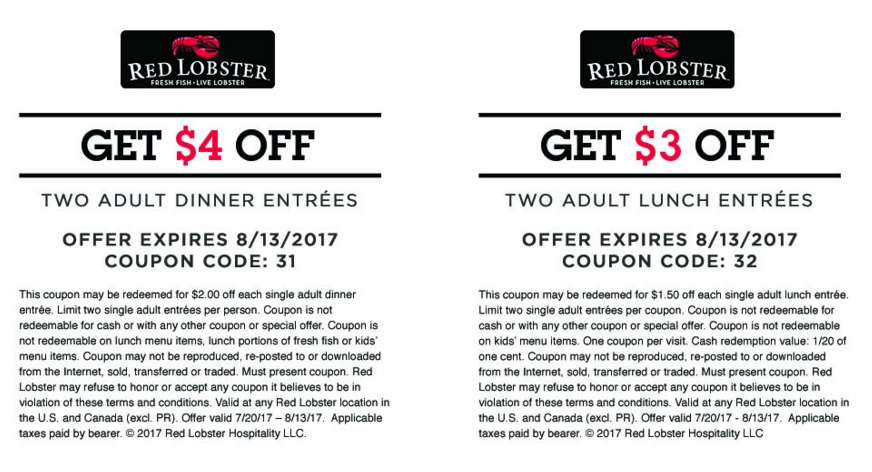 photograph about Red Lobster Coupons Printable named obtain-Pink-Lobster-Coupon codes-printable2017 Seize Your