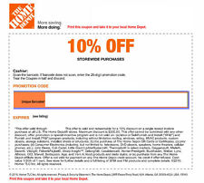 Valid Ebay Home Depot Coupons October Grab Your Printable Coupons