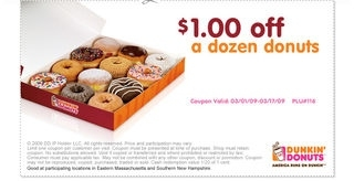 Dunkin Donut Coupons Printable / Hair Coloring Coupons for Dunkin Donuts Coupons Printable