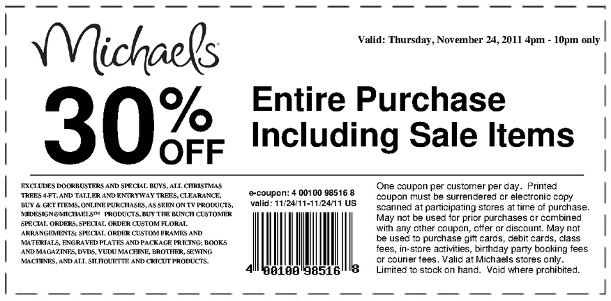 Online Michaels Printable Coupons 2018 Coupon