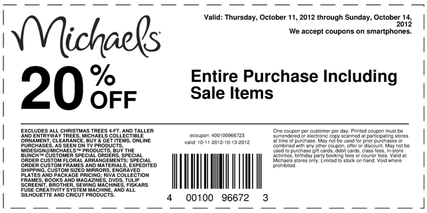 2018 Michaels Coupons Grab Your Printable Coupons
